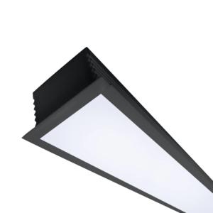 """פרופיליטה LED שקוע (רוחב: 48 מ""""מ)"""